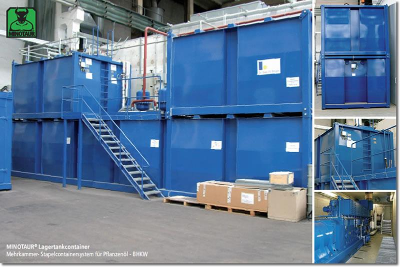 Mehrkammertank zur BHKW Versorgung